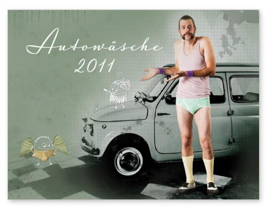 Autowaesche Kalender Cover 2011