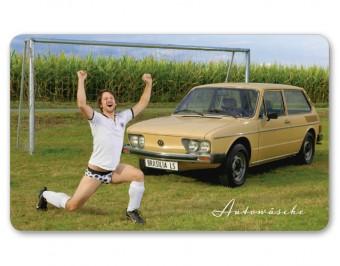 Autowaesche Brettchen VW Brasilia