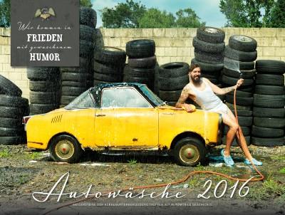 Autowäsche Kalender 2016_Cover